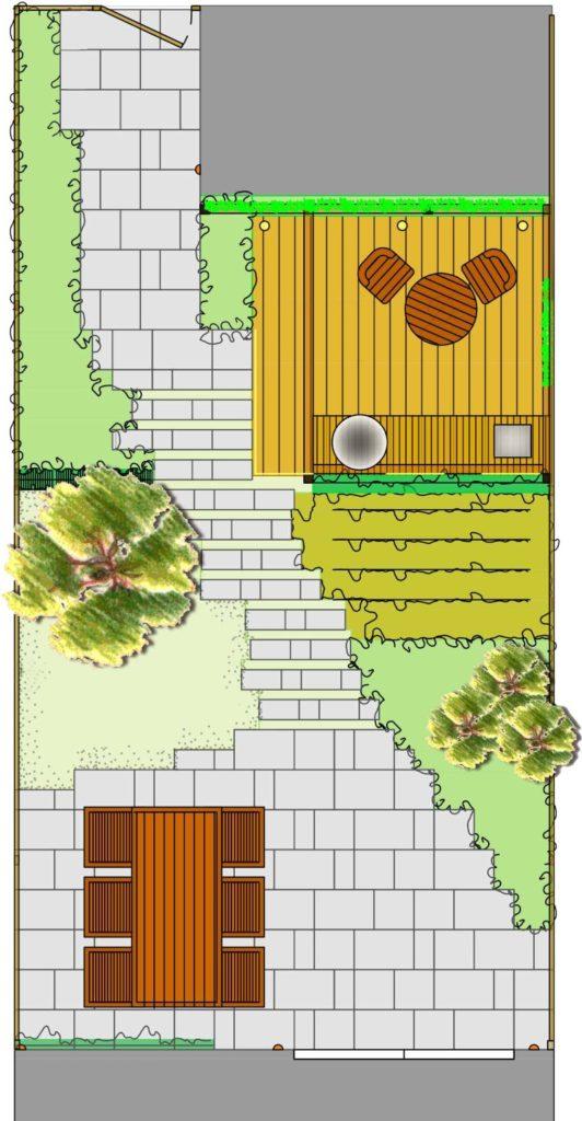 Tuinontwerp Tuinschets Green Design Studio