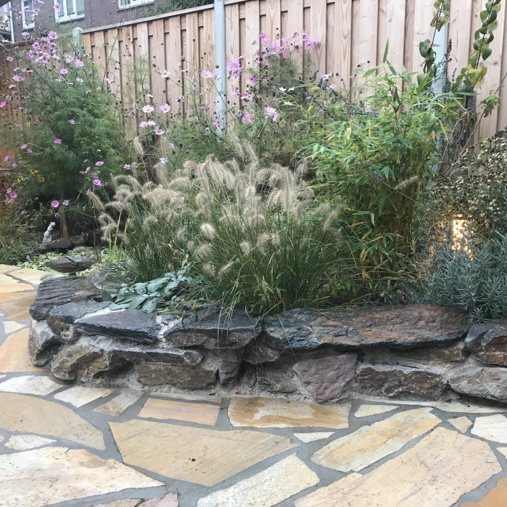 Tuinontwerp Kleine Tuin Beplanting Natuursteen Moderne Tuin