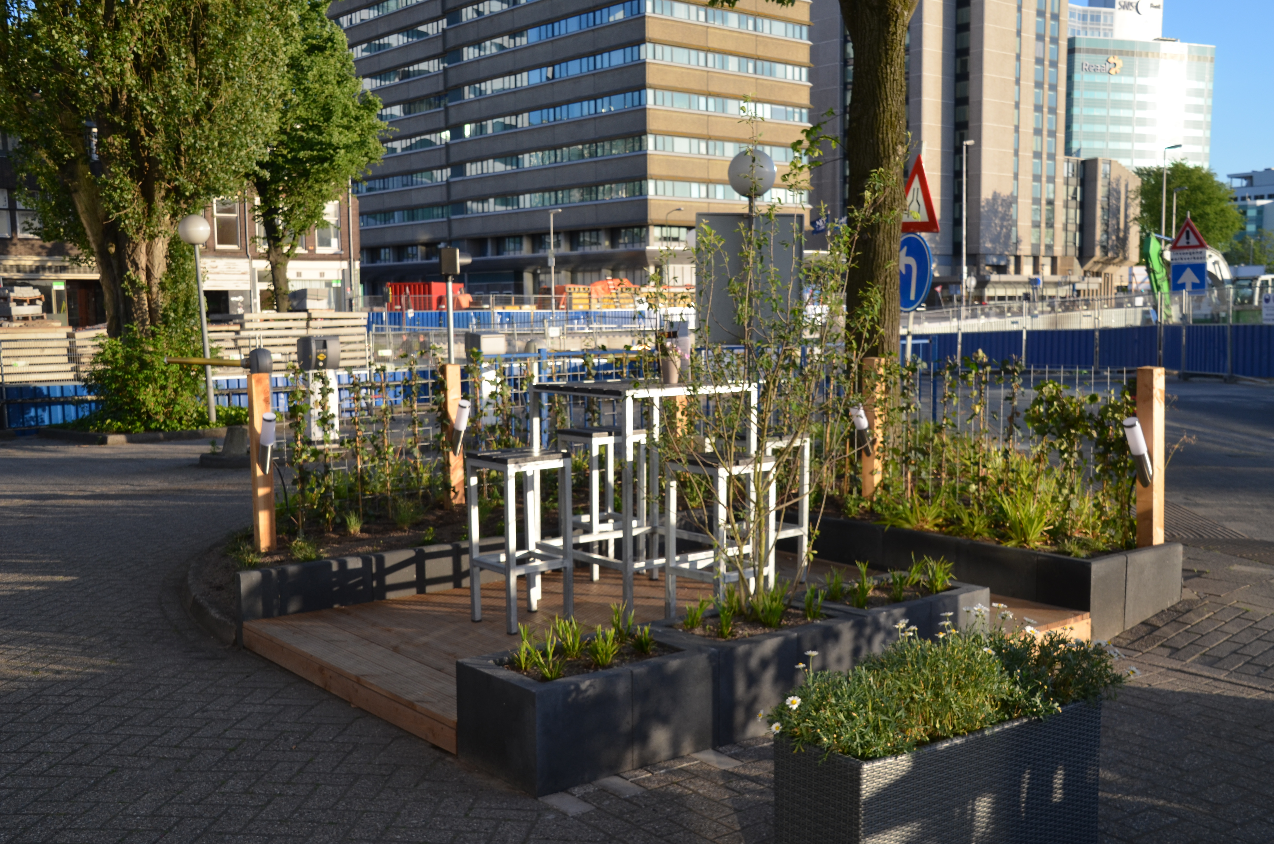 Tuinontwerp ParkPlaza Utrecht